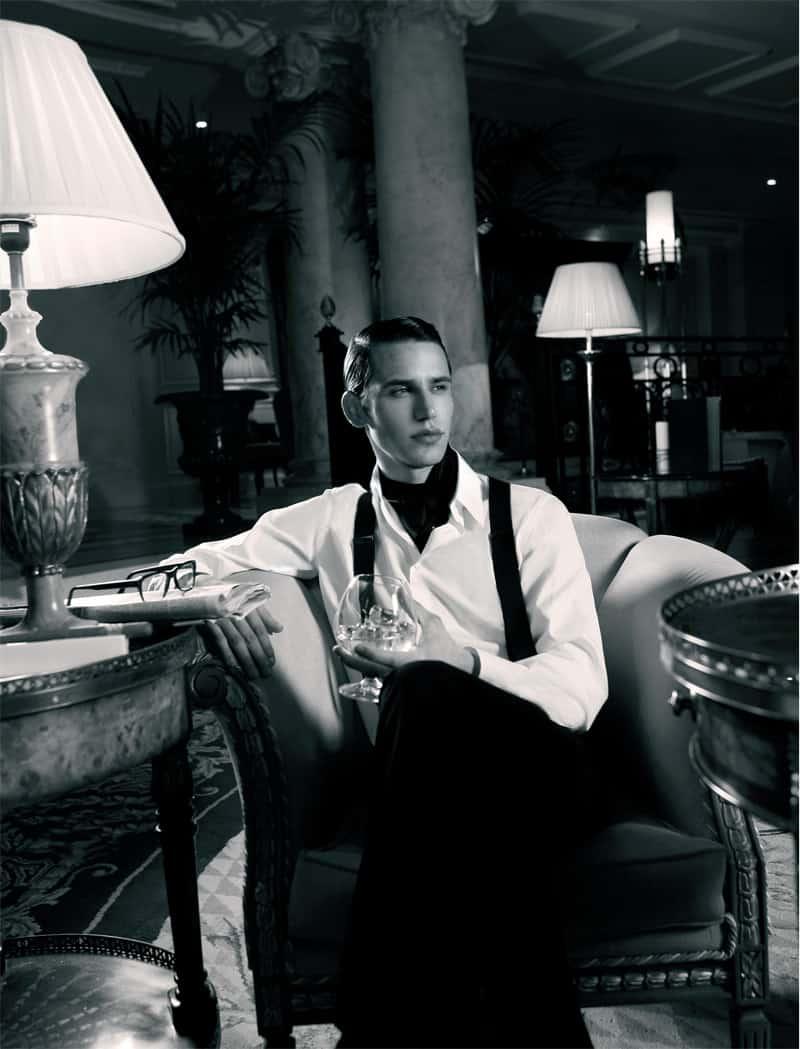 La elegancia del Gentleman...