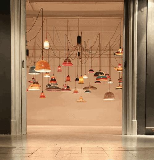Lámparas de diseño y solidarias