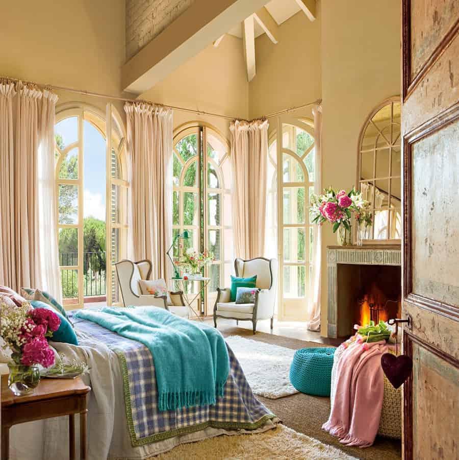 Habitaciones Con Encanto Luciasecasa ~ Colores Bonitos Para Habitaciones