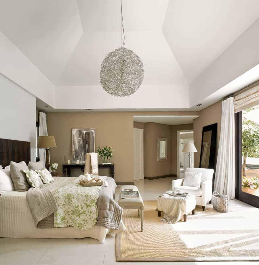 Habitaciones con encanto luciasecasa Decoracion de dormitorios de matrimonio cortinas