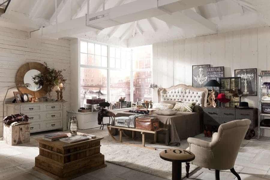 Habitaciones con encanto luciasecasa - Decoracion vintage industrial ...