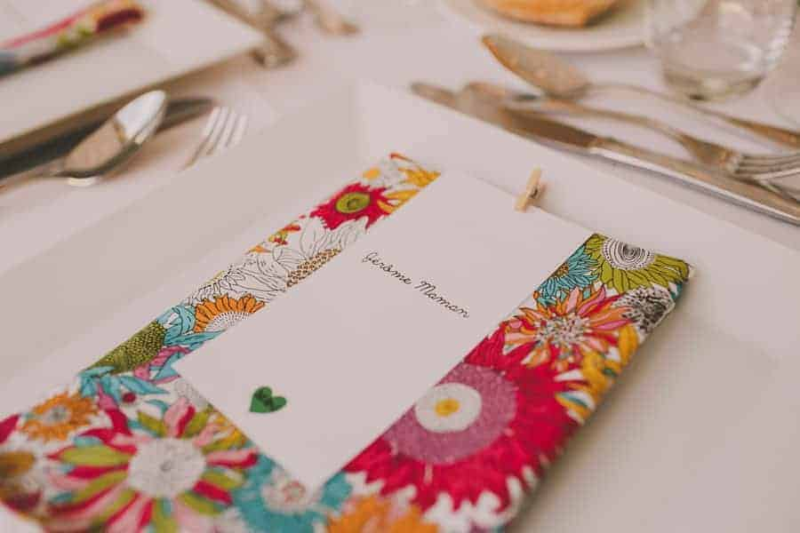 Color block: mesas llenas de encanto