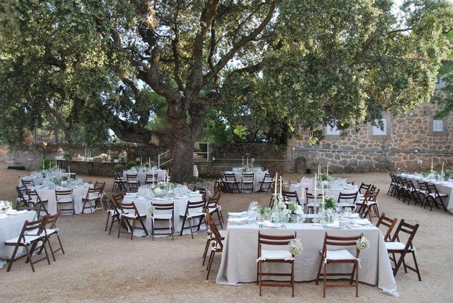 Tres bodas y el buen gusto de wedding planners luciasecasa for Mobiliario de patio