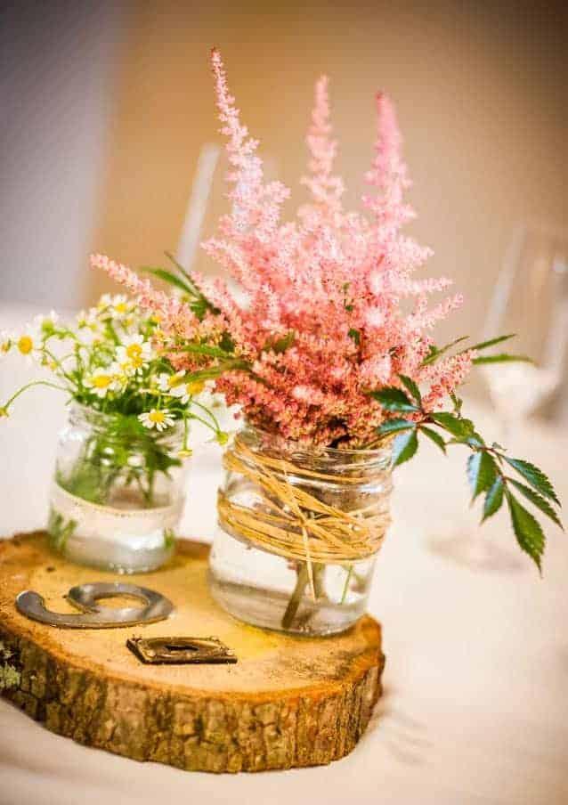 Set para decorar mesas de bodas