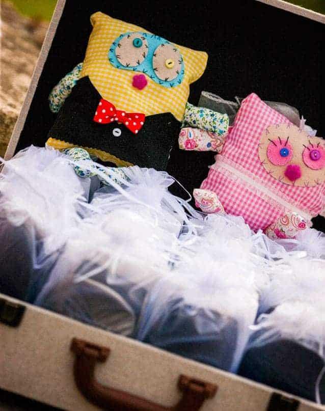 Muñecos de tela para regalar a invitados