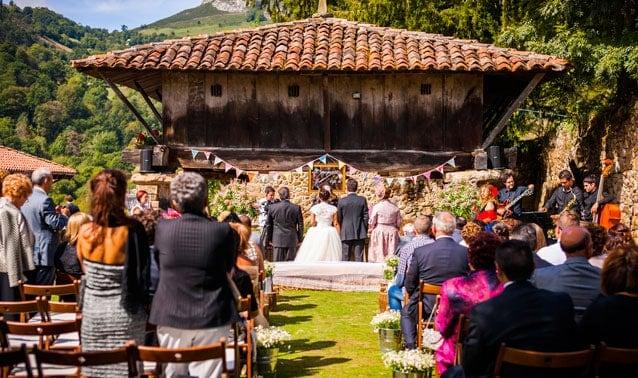 Ceremonia en un orreo
