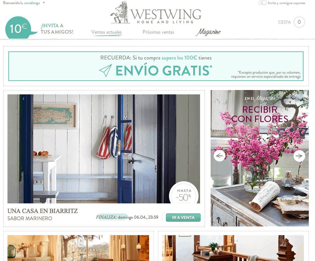 Decoraci n las cinco mejores webs de compra online for Webs de decoracion