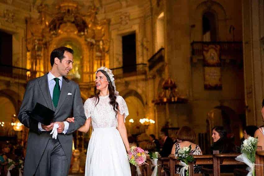 Una boda al aire libre, en Elche (Alicante)