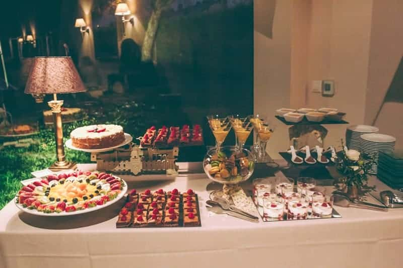 candy bar catering boda