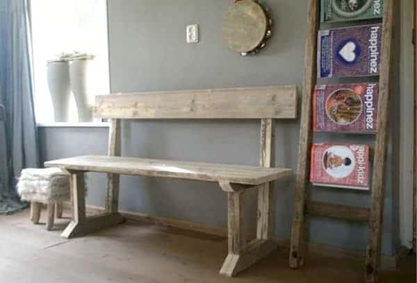 Decora tu casa con madera reciclada luciasecasa for Muebles con madera reciclada