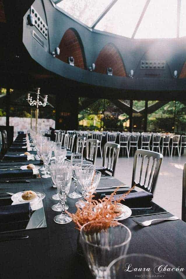 cúpula indutrial para bodas