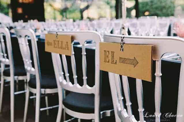 sillas novio y novia boda montjuic