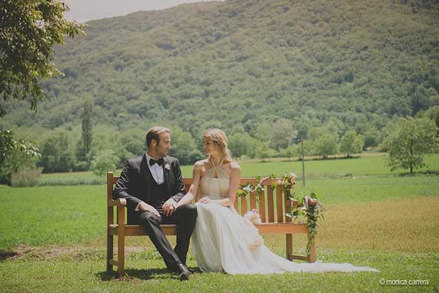 El campo como escenario de una boda 10