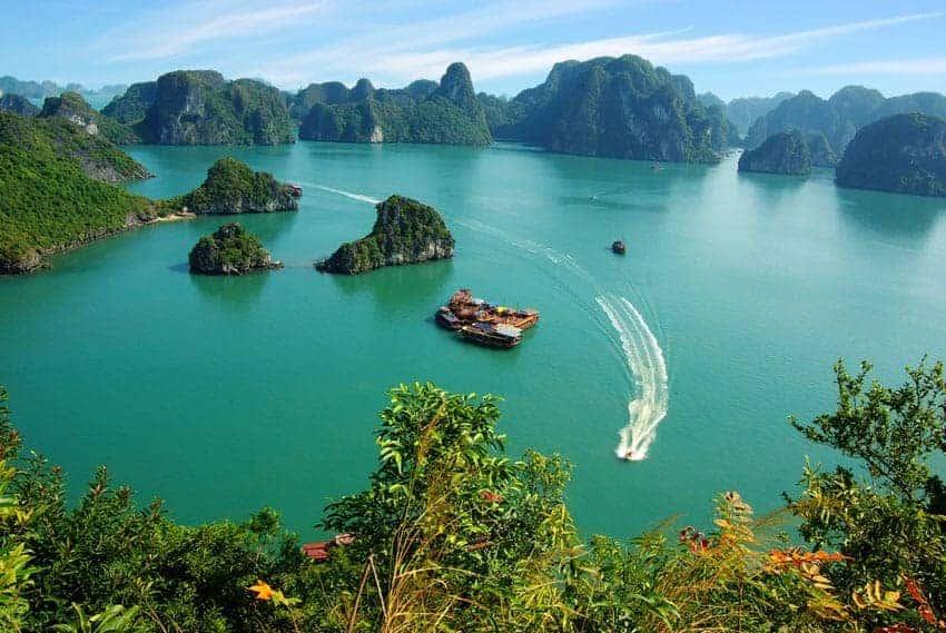 De luna de miel en Vietnam...