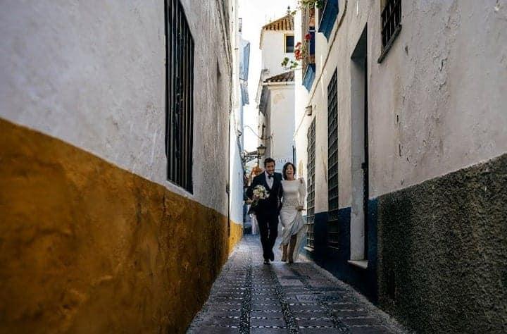 calles andalucia boda reportaje novios