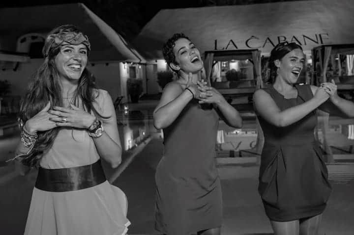 baile amigas novia boda marbella