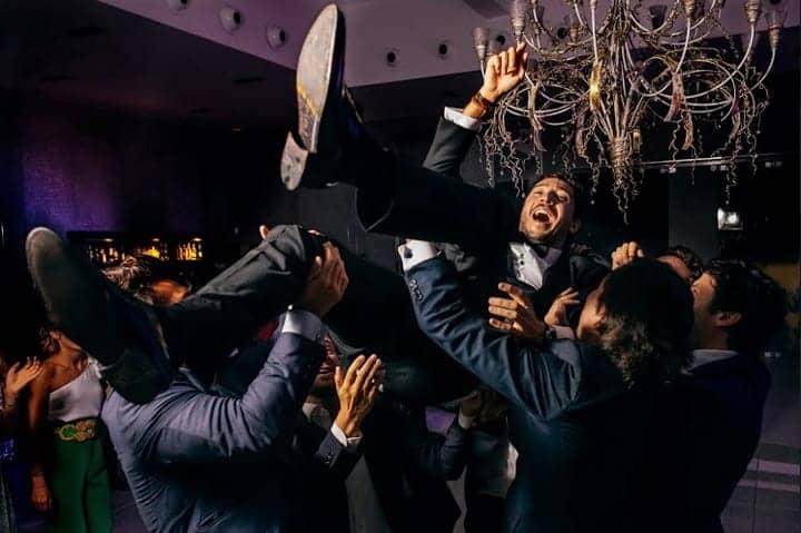 mantear al novio boda marbella