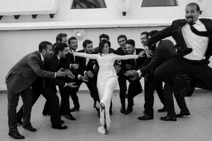 testigos reportaje novia boda marbella