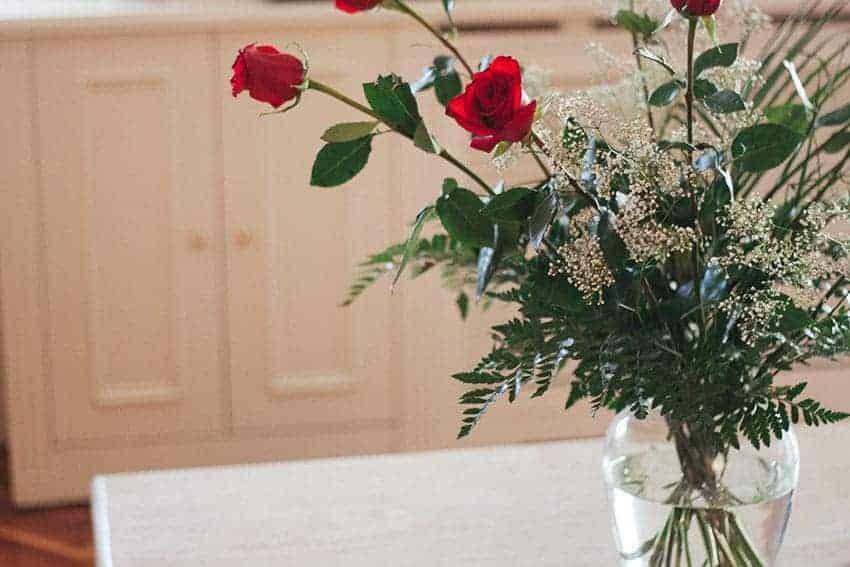 flores casa novia
