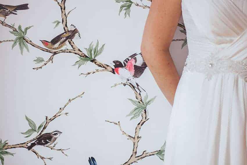 vestido de novia cinturon