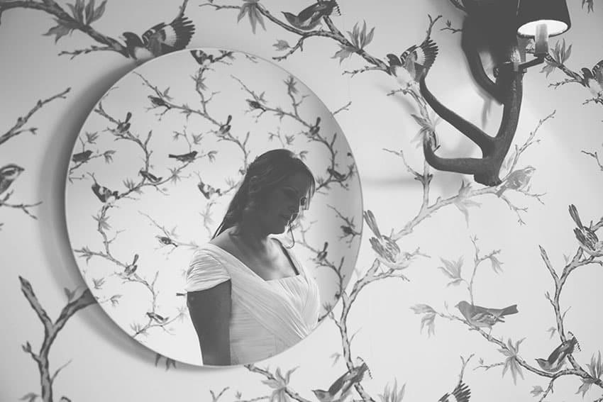 espejo novia reflejo