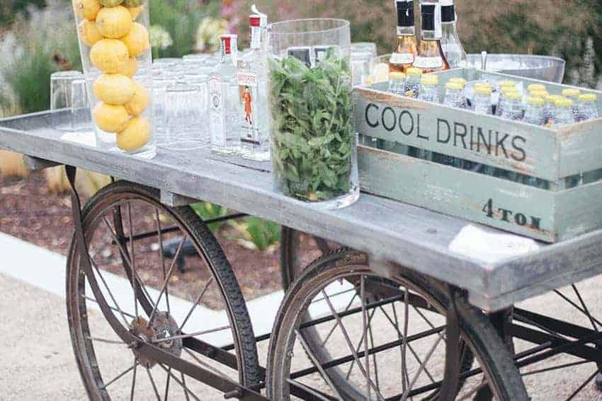limonada y mojitos bodas