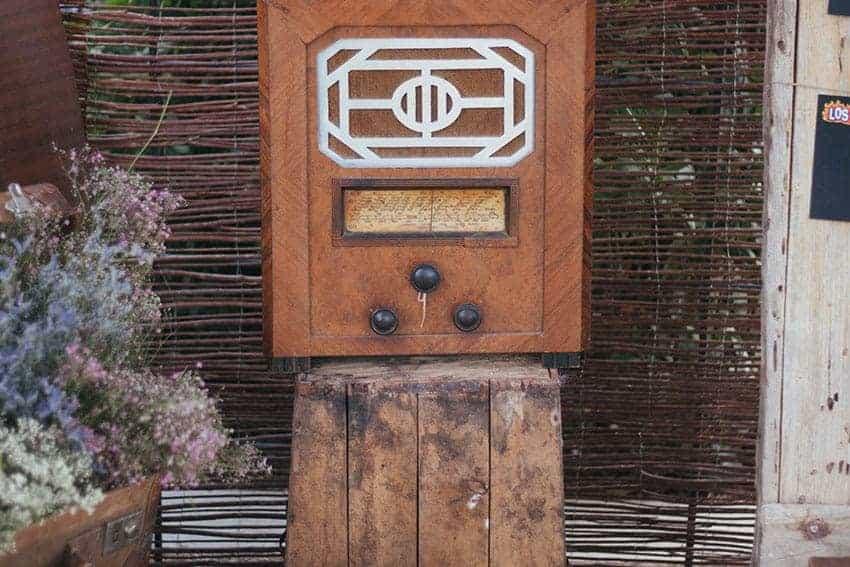 radio antigua boda