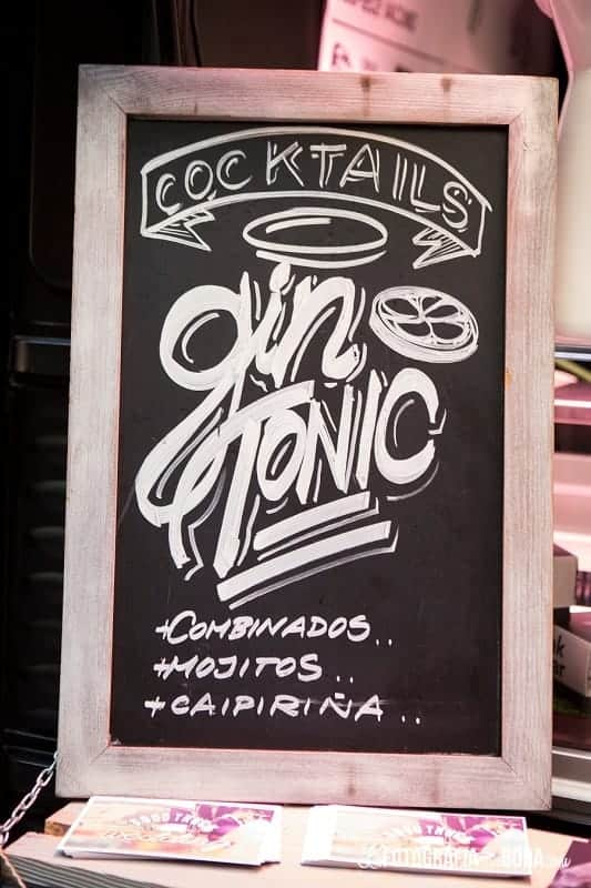 Feria-Love-and-Vintage-meatruck-gin tonic