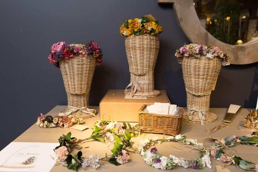 coronas de flores
