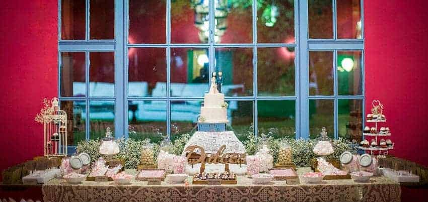 buffet de dulces boda
