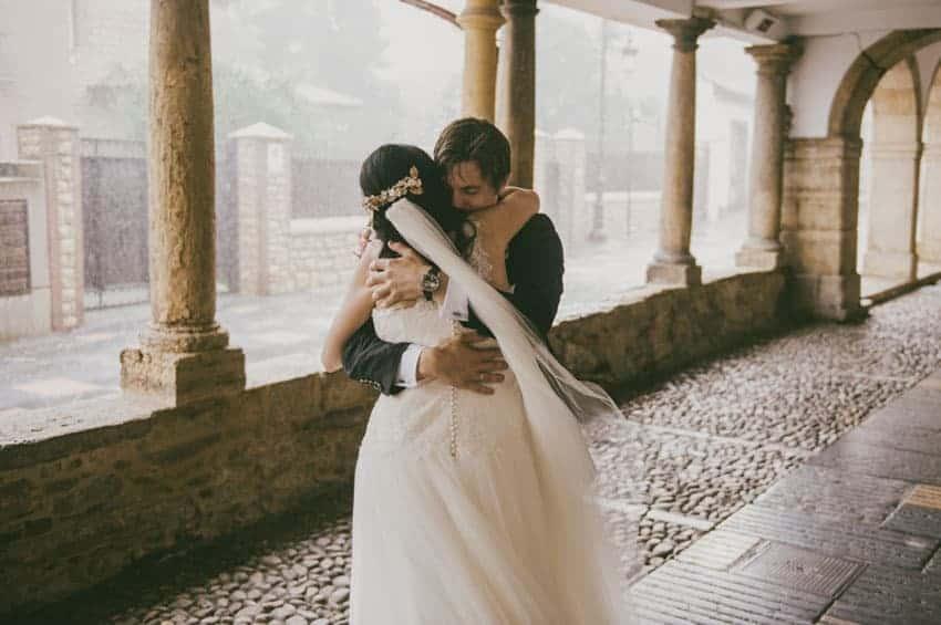 Una boda a distancia