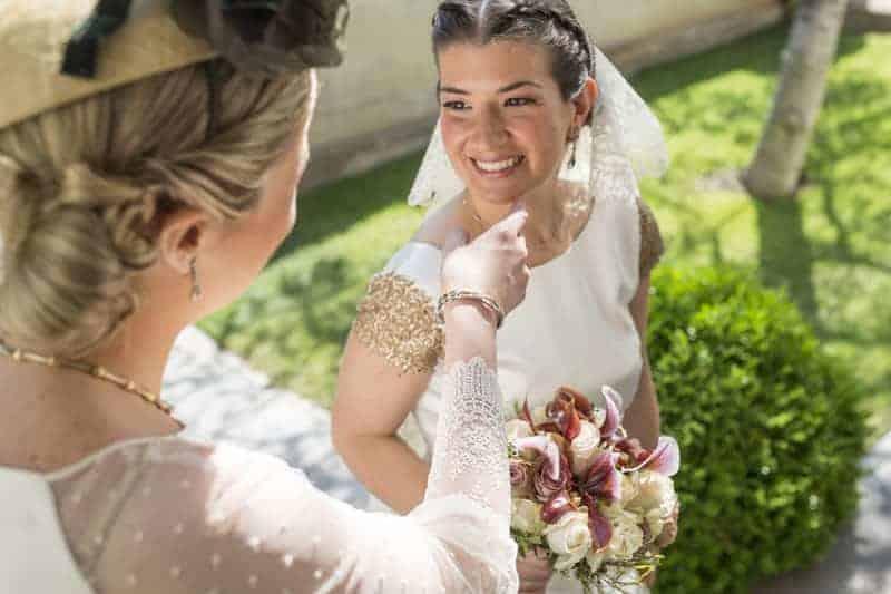 novia sonrisa