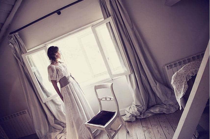 novia habitacion