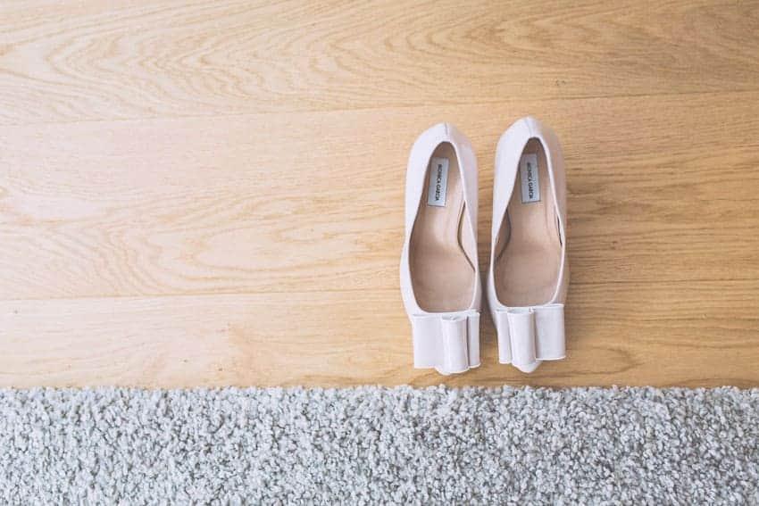 zapatos novia lazo