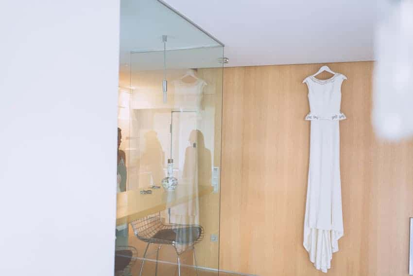 vestido novia Cristina Pascual