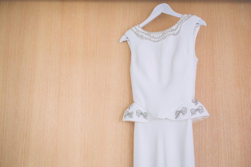 Vestido novia Cristina Pascual original