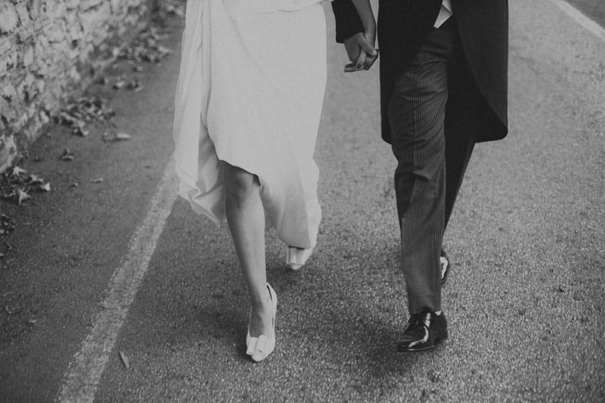 zapatos novia con lazo