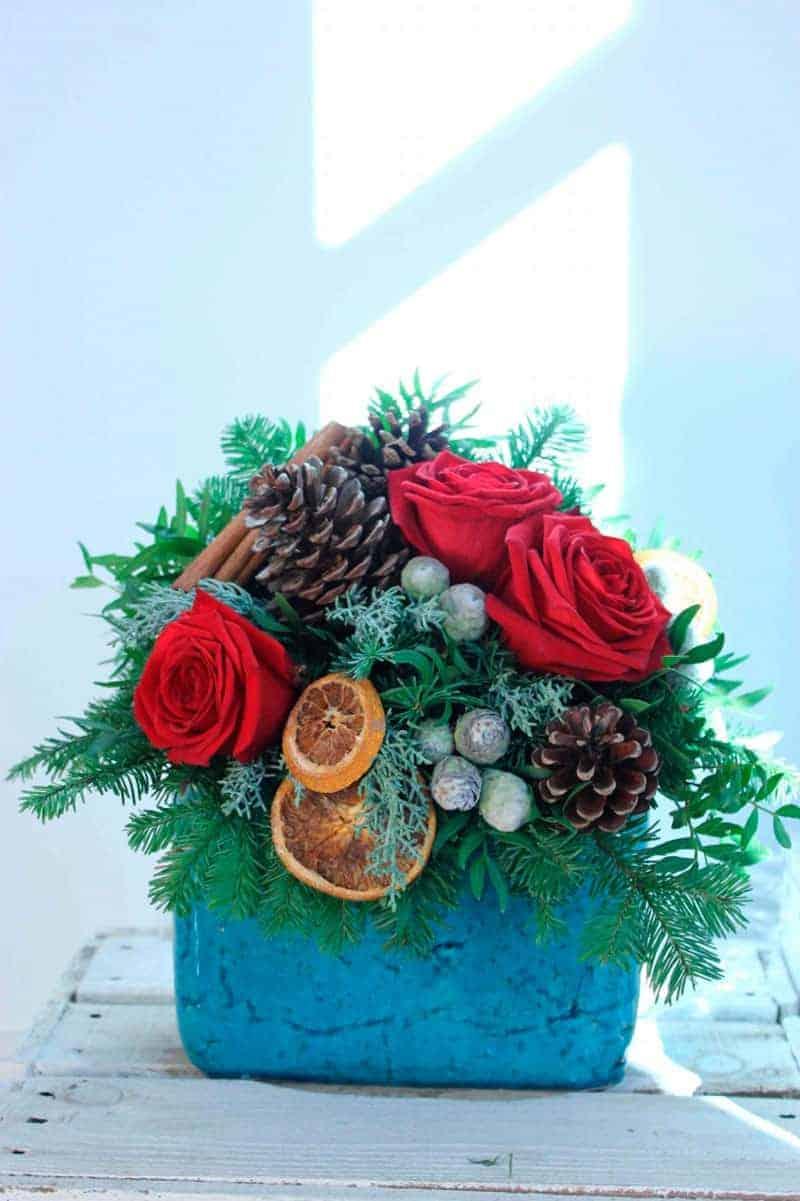 Flores para Navidad...